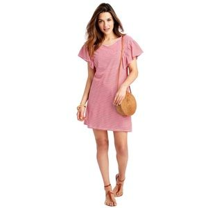 Vineyard Vines Ruffle Sleeve Dress